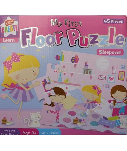 Primul meu puzzle - Sleepover
