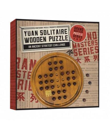 Yuan Solitaire Wooden Puzzle