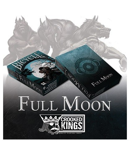 Bicycle Werewolf Full Moon...
