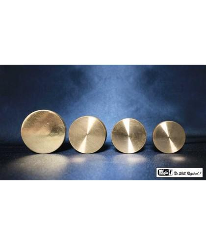 Nested Coin Box Brass