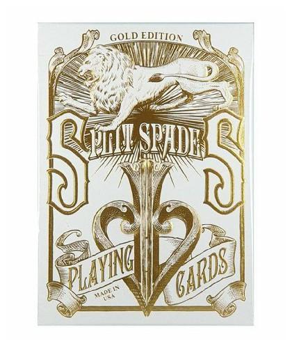 GOLD SPLIT SPADES David Blaine