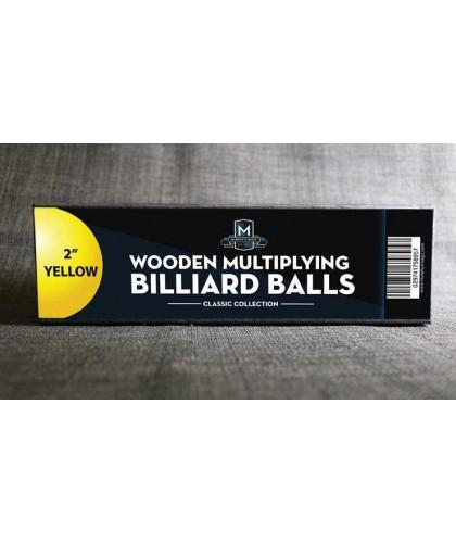 Wooden Billiard Balls 5 cm...