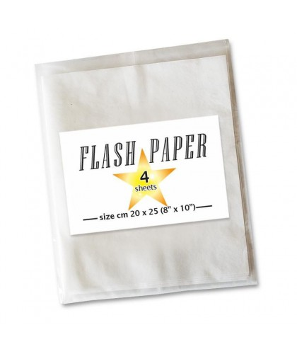 Flash Paper Alb - 4 folii...