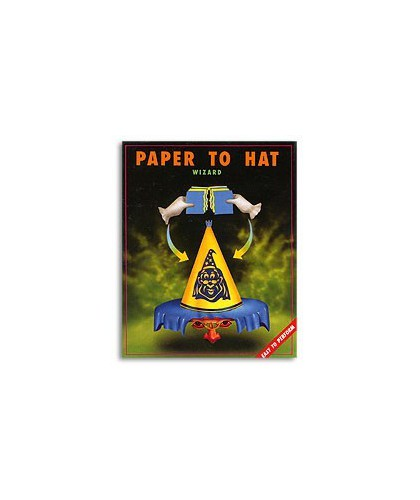 Paper To Hat (Wizard) by Uday