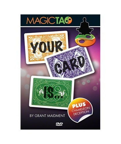 Your Card Is - DVD si Gimmick