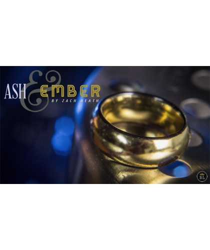 Ash and Ember Gold Curved