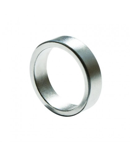 Magnetic Ring - Flat - Silver