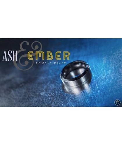 Ash and Ember Silver Beveled
