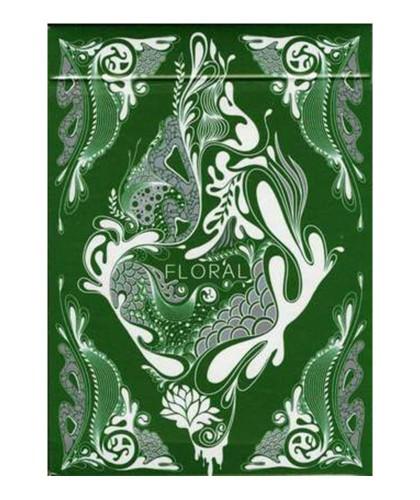 Carti de joc Floral (Green)...