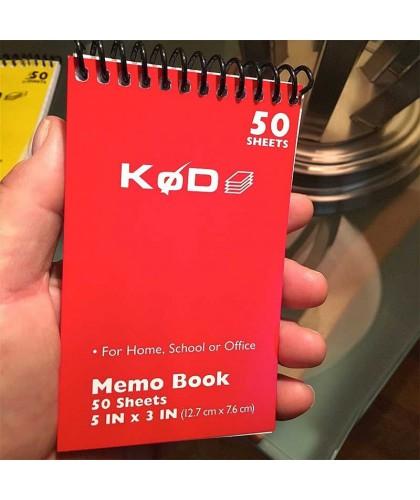 SvenPad KøD Memo Pad (red...