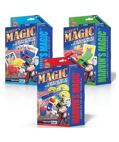 Marvins Magic Made Easy Set...
