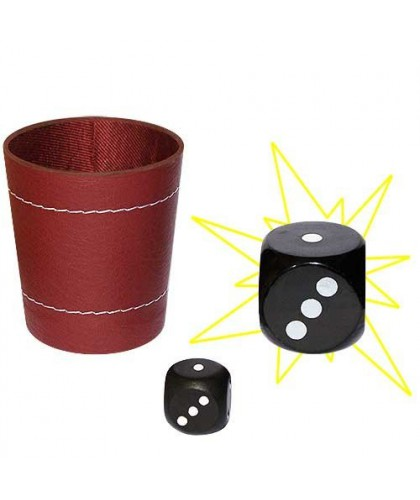 Chop Cup With Dice