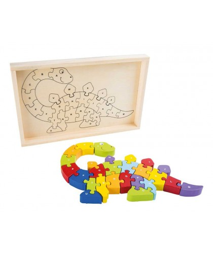 ABC Puzzle Dinozaur