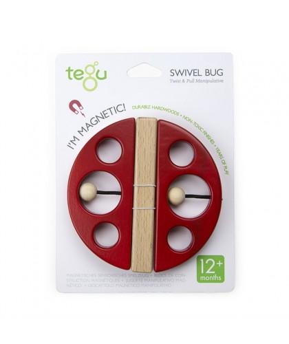 Swivel Bug Poppy Red
