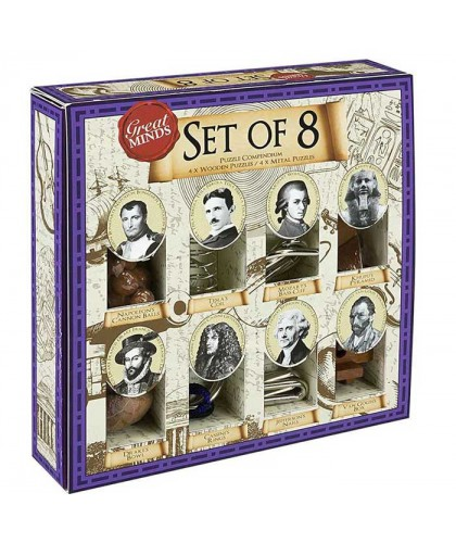 Puzzle Great Minds - Set of 8