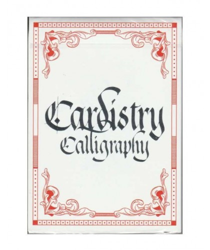 Cardistry Calligraphy - Red