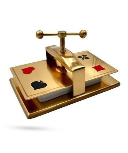 Collectors Card Press Brass