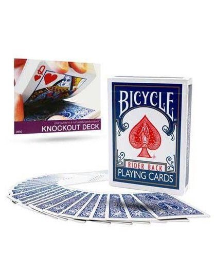 Bicycle Knockout Deck with...