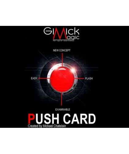 PUSH CARD by Mickael Chatelain