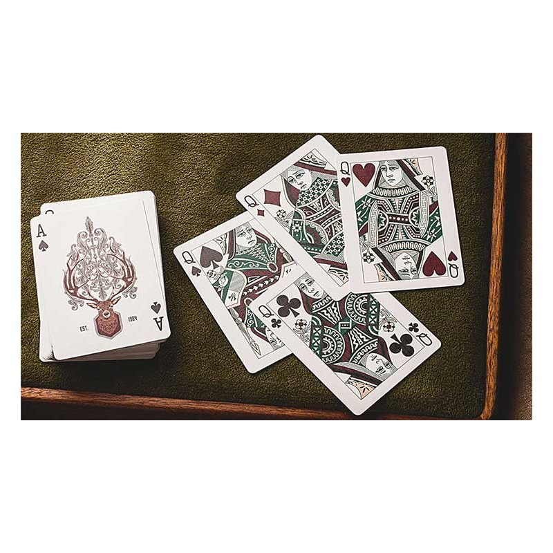 Royal Zen Playing Cards - Red