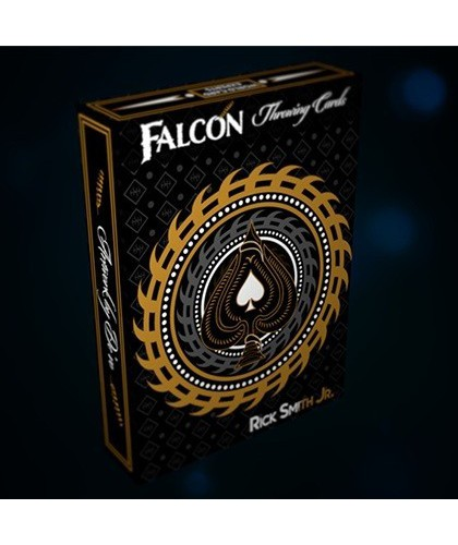 Falcon Throwing Cards by...