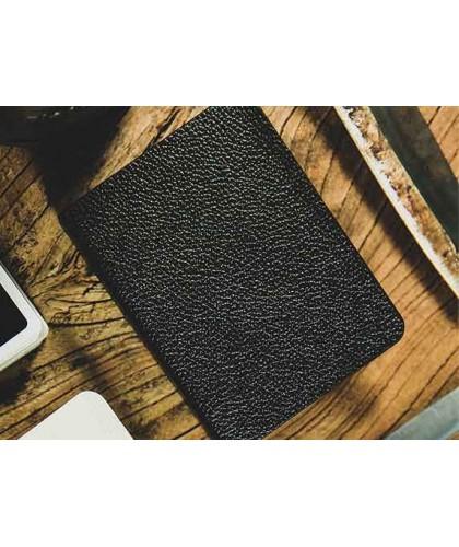 Litchi Grain Leather Clip...