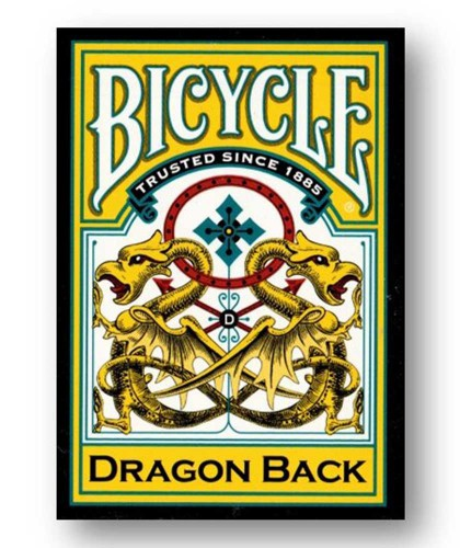 Bicycle Dragon Yellow by...