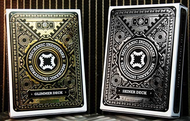 Bicycle Robotics by Collectable Playing Cards