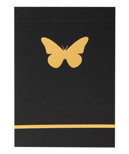 Butterfly Black - Gold...