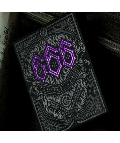 666 Purple by Riffle Shuffle