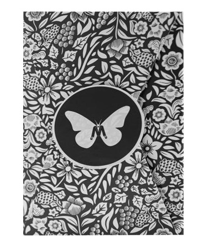 Butterfly Black - White...
