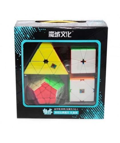 Set 4 Cuburi Rubik Moyu...