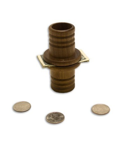 Coin Tube (Wood), Mikame