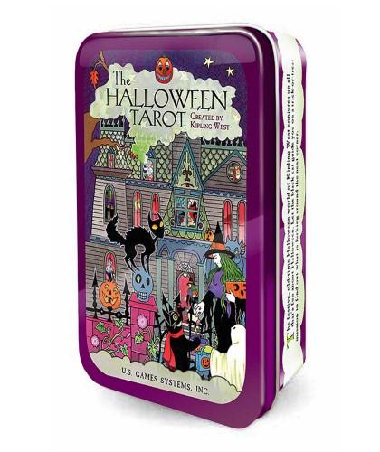 Tarot Halloween In A Tin