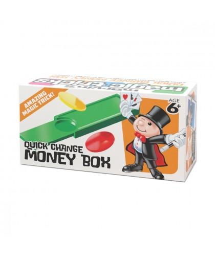Truc de magie Cutia cu Bani