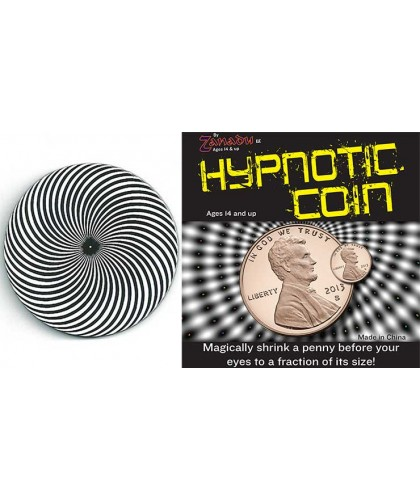 Hypno Coin by Zanadu Magic
