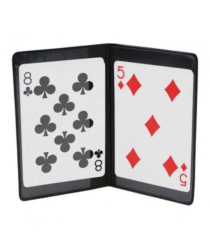 Card Holder cu buzunar secret