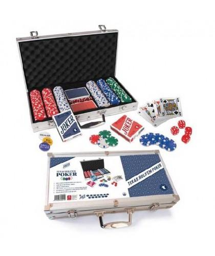 Poker Set Cartamundi 300...