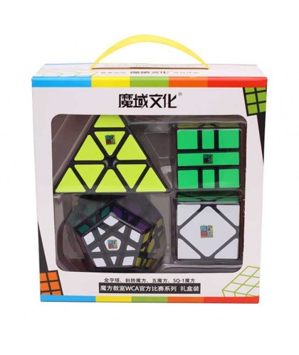 Set 4 cuburi diverse forme