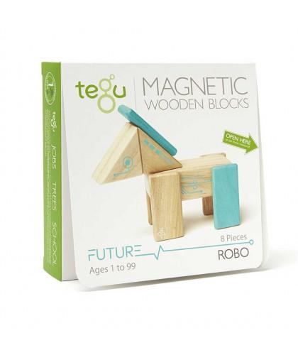 Robo, set din lemn magnetic...