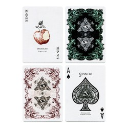 Dia de los Muertos Black Playing Card